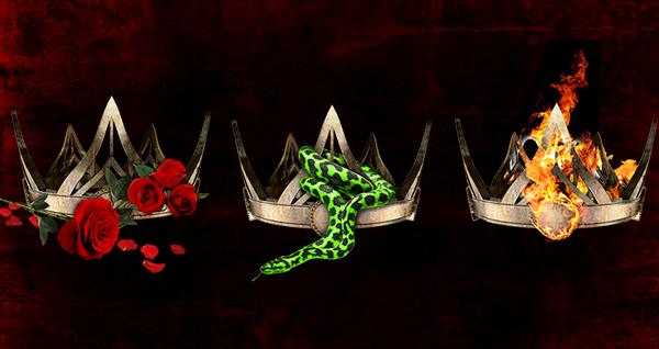 Resultado de imagem para three dark crowns