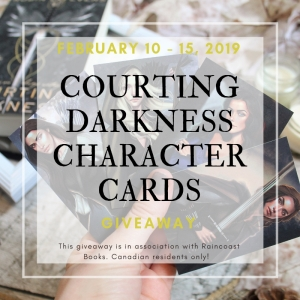 Courting Darkness Giveaway
